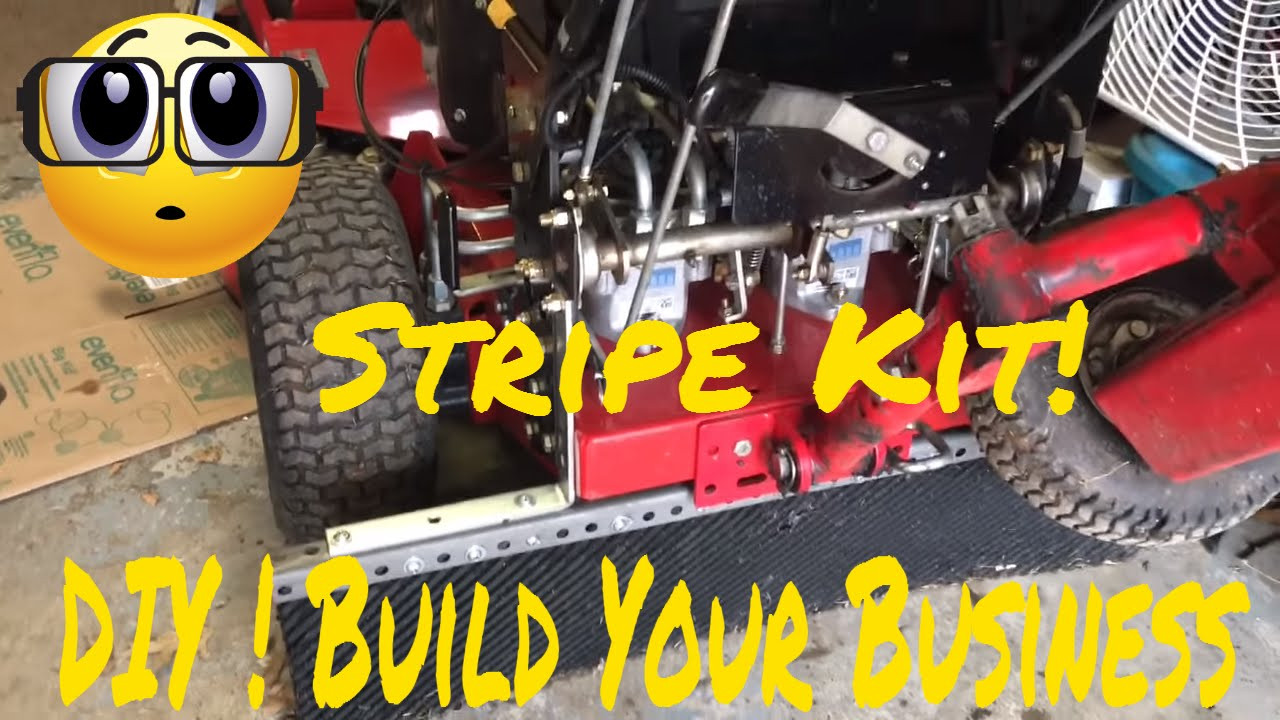 Best ideas about DIY Striping Kit . Save or Pin DIY Lawn Stripe Kit Lawn Stripping Kit Walk Behind Scag Now.