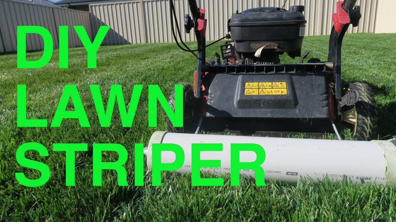 Best ideas about DIY Striping Kit . Save or Pin DIY Lawn Striper Now.