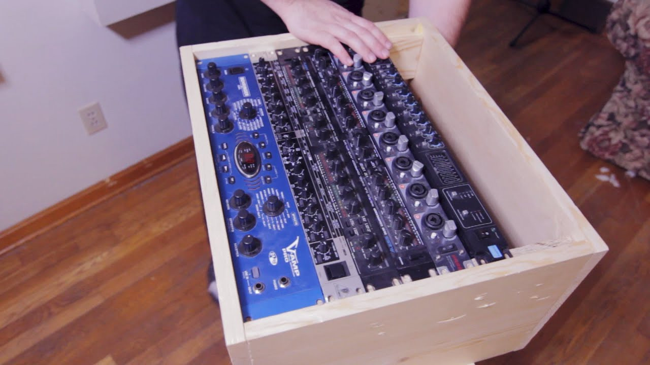 "Best ideas about DIY Studio Rack . Save or Pin How to DIY build a 19"" rack mount gear enclosure for $10 Now."