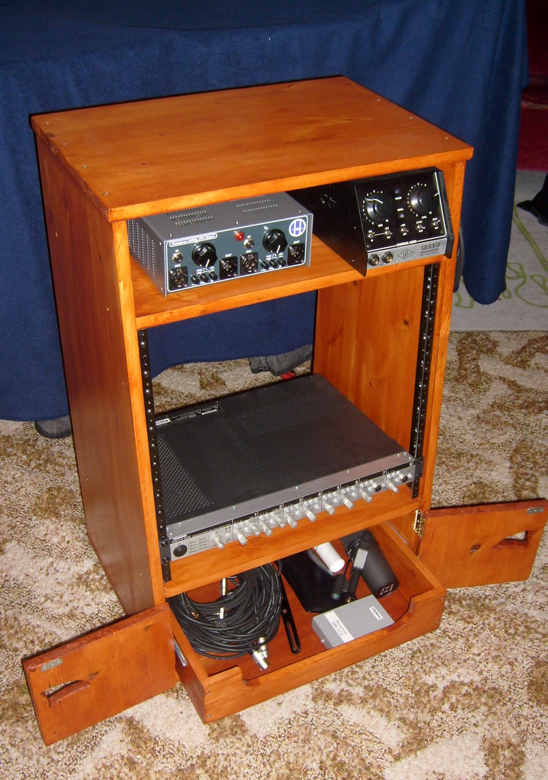 "Best ideas about DIY Studio Rack . Save or Pin Geir s audio blog a 19"" DIY Rack Now."
