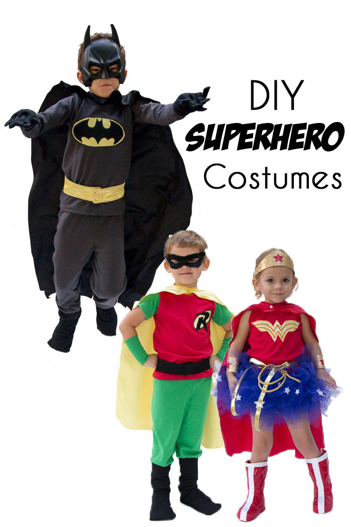 Best ideas about DIY Superhero Costumes For Kids . Save or Pin DIY Superhero Costumes Melly Sews Now.