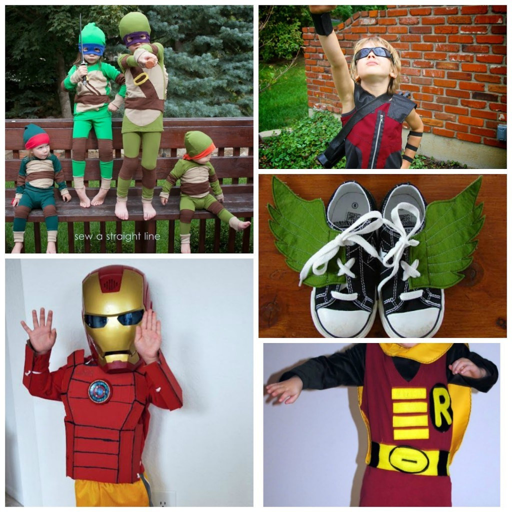 Best ideas about DIY Superhero Costumes For Kids . Save or Pin 20 Easy DIY Superhero Halloween Costumes For Kids Now.