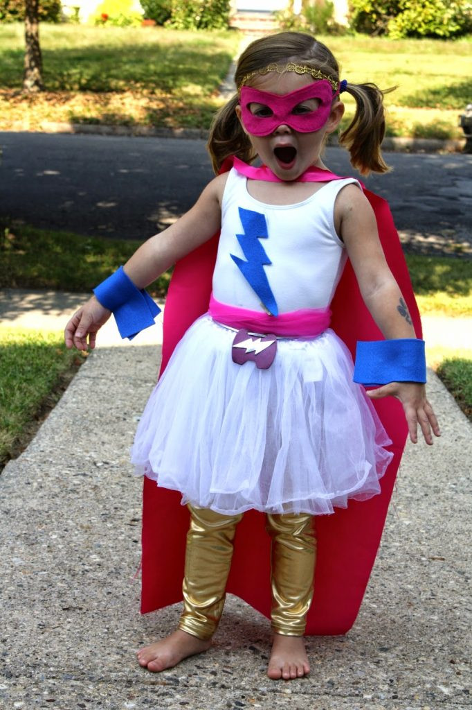 Best ideas about DIY Superhero Costumes For Kids . Save or Pin DIY Super Hero Costume For Girls The Chirping Moms Now.