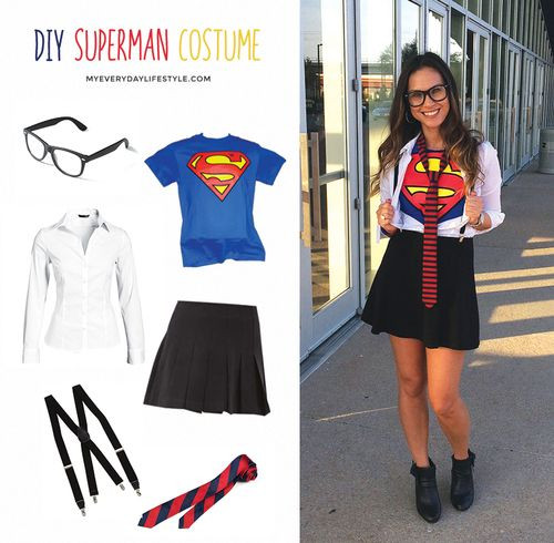 Best ideas about DIY Superman Costume . Save or Pin DIY Woman Superman Costume DIY Now.