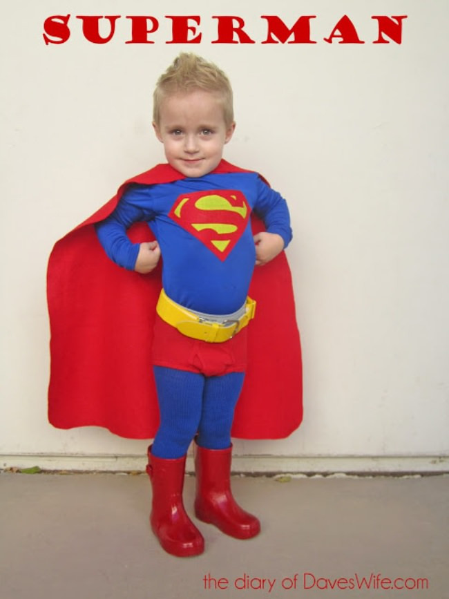 Best ideas about DIY Superman Costume . Save or Pin 20 Homemade Superhero Costumes [free patterns] – Tip Junkie Now.
