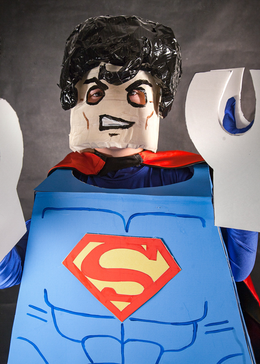 Best ideas about DIY Superman Costume . Save or Pin DIY Lego Superman Costume Now.