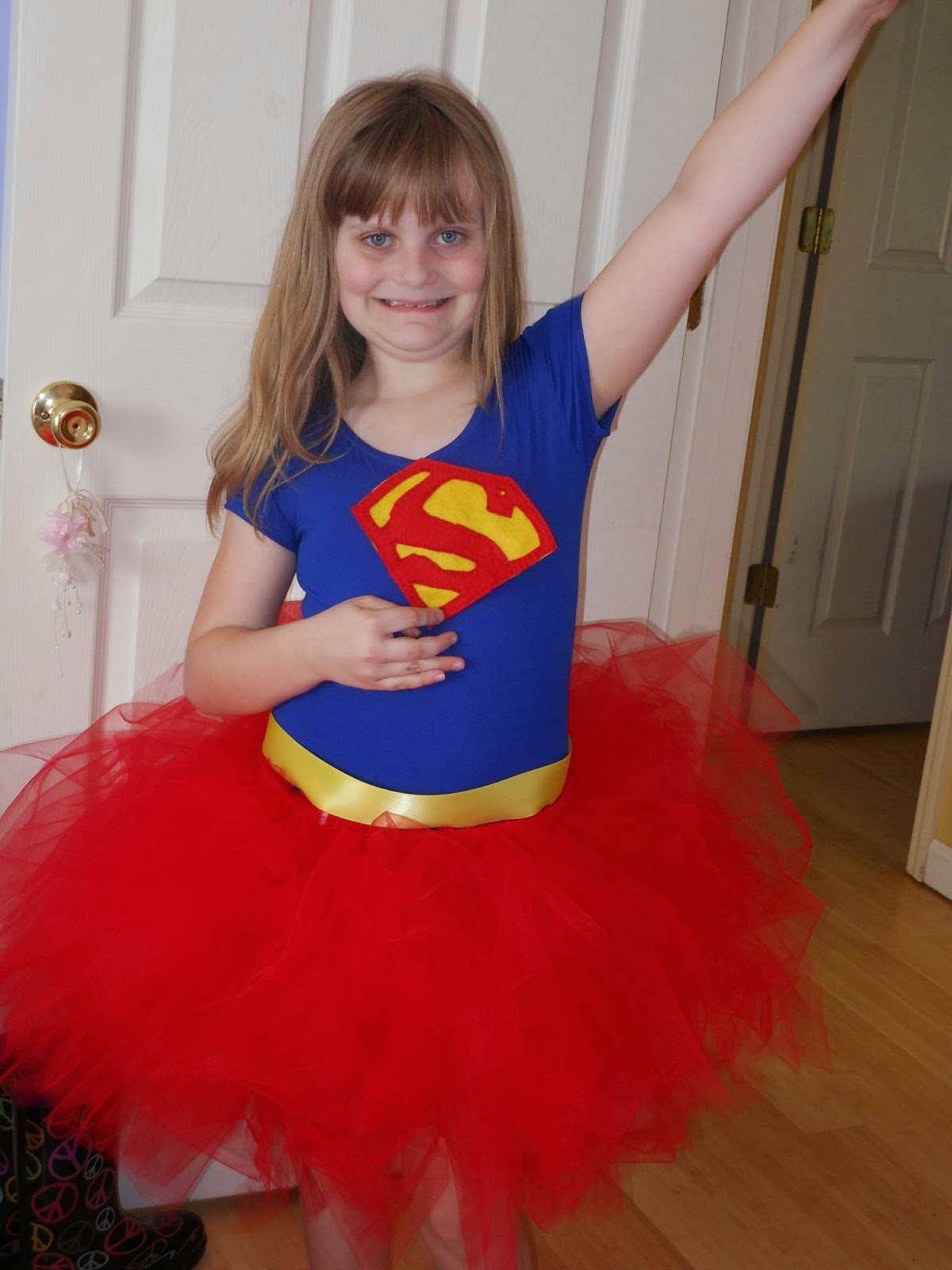 Best ideas about DIY Superman Costume . Save or Pin Sunny Days With My Loves Adventures in Homemaking In Now.