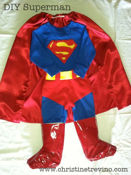 Best ideas about DIY Superman Costume . Save or Pin 15 Must see Superman Costumes Pins Now.