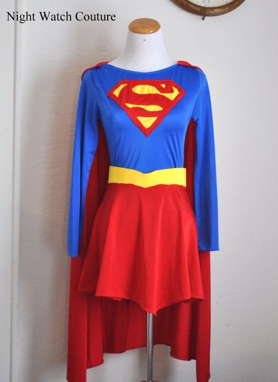 Best ideas about DIY Superman Costume . Save or Pin supergirl costume diy Google Search Now.
