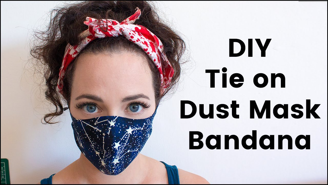 Best ideas about DIY Surgical Mask . Save or Pin DIY Tie Dust Mask Bandana For Burning Man Now.