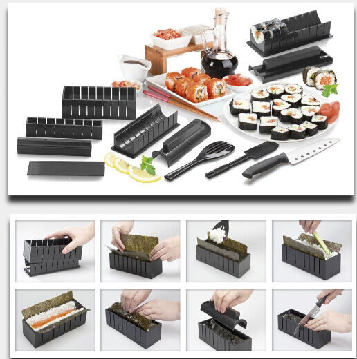 Best ideas about DIY Sushi Kit . Save or Pin New Sushi Maker Kit Rice Roll Mold Kitchen DIY Easy Chef Now.