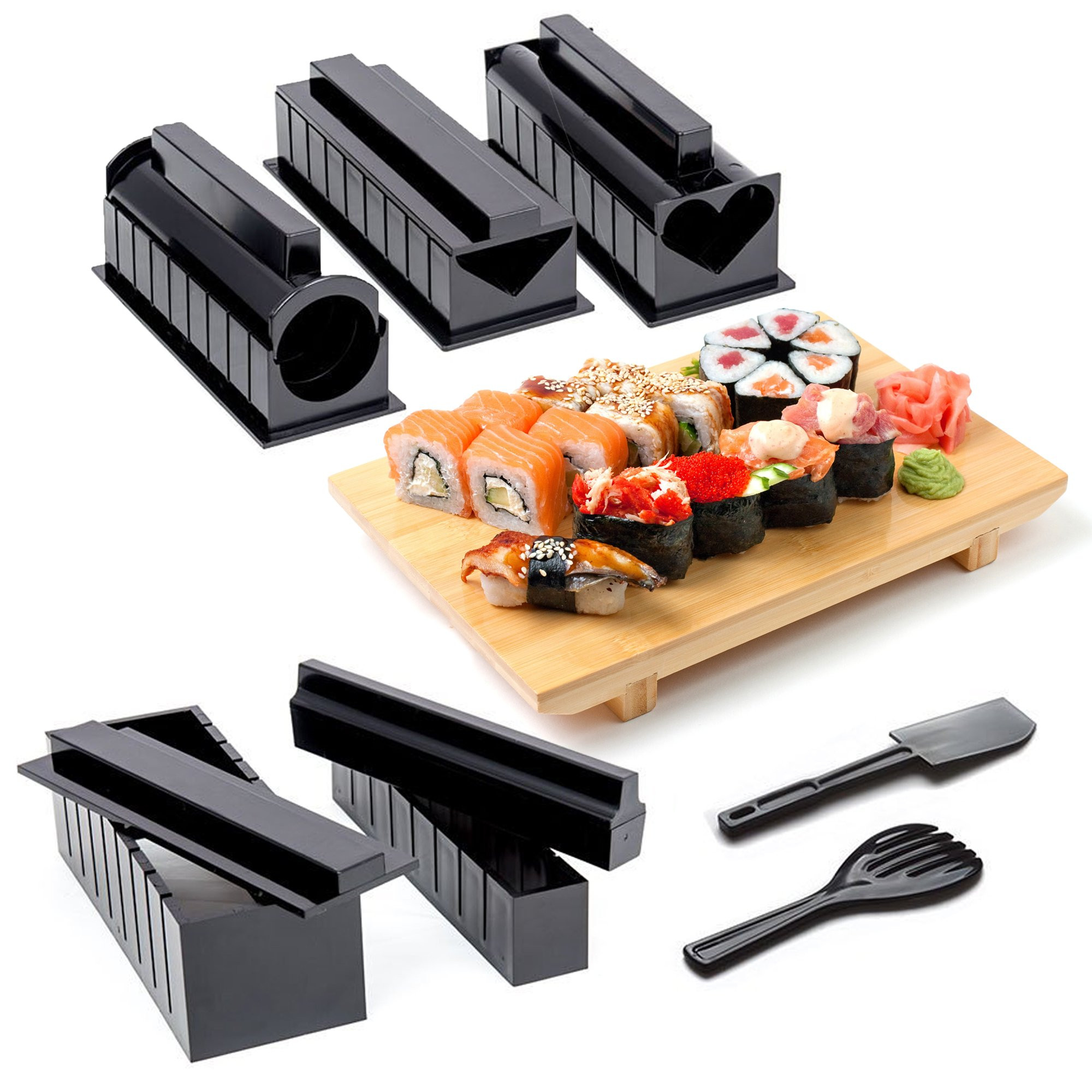 Best ideas about DIY Sushi Kit . Save or Pin Home Sushi Making Kit plete 10 piece Kit with 5 Molds Now.