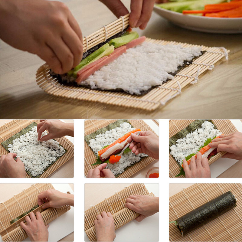 Best ideas about DIY Sushi Kit . Save or Pin Sushi Maker Kit Rice Roll bamboo Mold Kitchen DIY Mould Now.