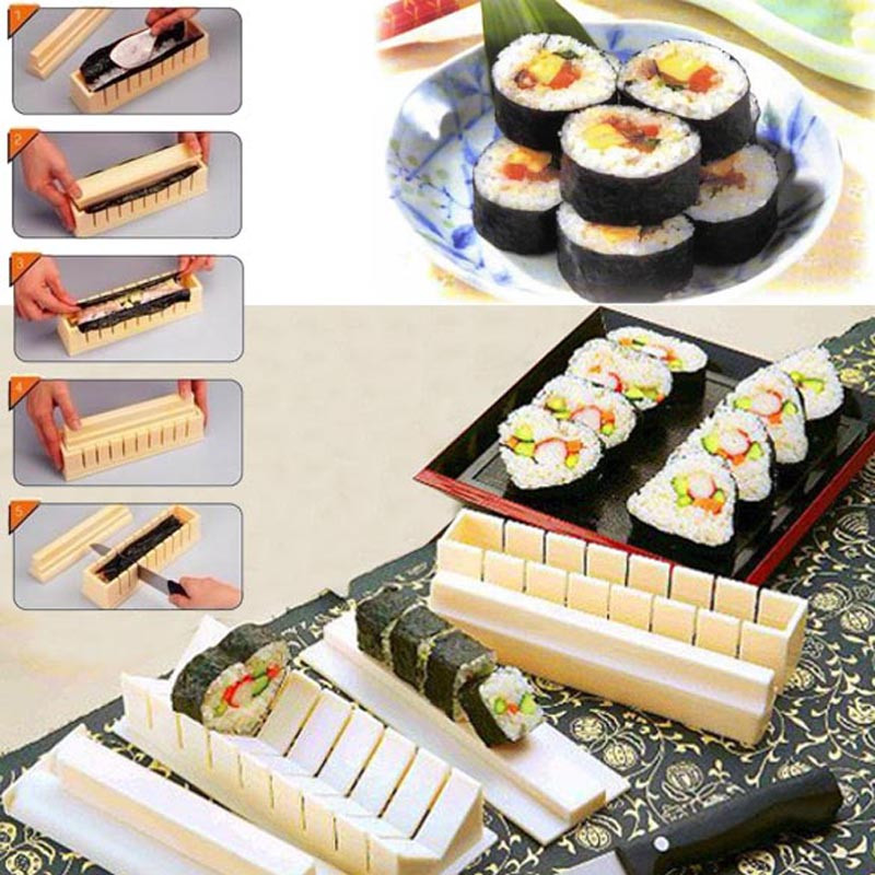 Best ideas about DIY Sushi Kit . Save or Pin New DIY Cooking Tools Roll Sushi Mold Home Kitchen Dinner Now.