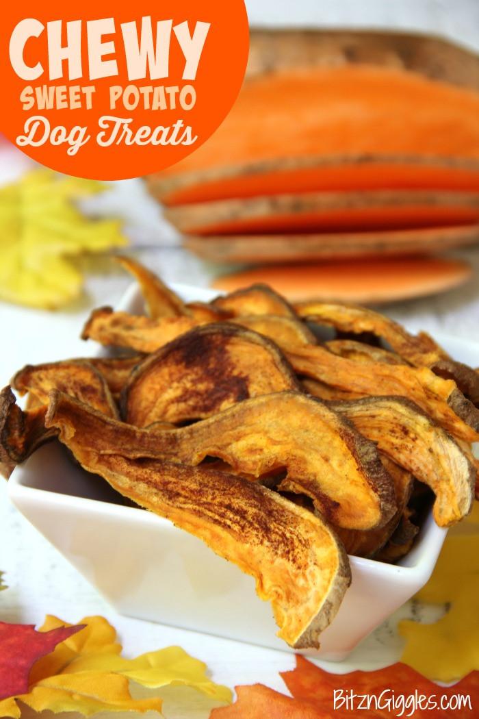 Best ideas about DIY Sweet Potato Dog Treats . Save or Pin Chewy Sweet Potato Dog Treats Bitz & Giggles Now.