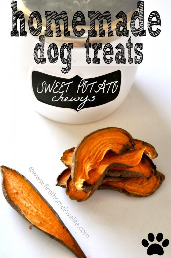 Best ideas about DIY Sweet Potato Dog Treats . Save or Pin Homemade Sweet Potato Dog Treats First Home Love Life Now.