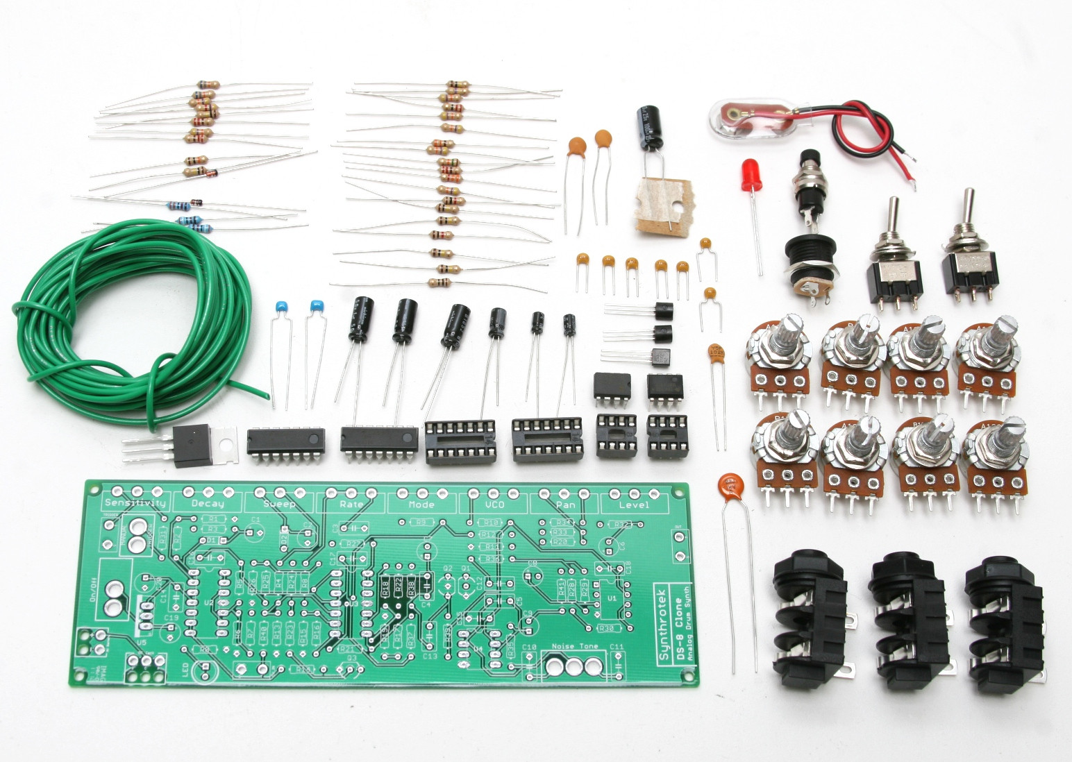 Best ideas about DIY Synth Kit . Save or Pin DS 8 Drum Synth Clone Assembly Instructions Now.