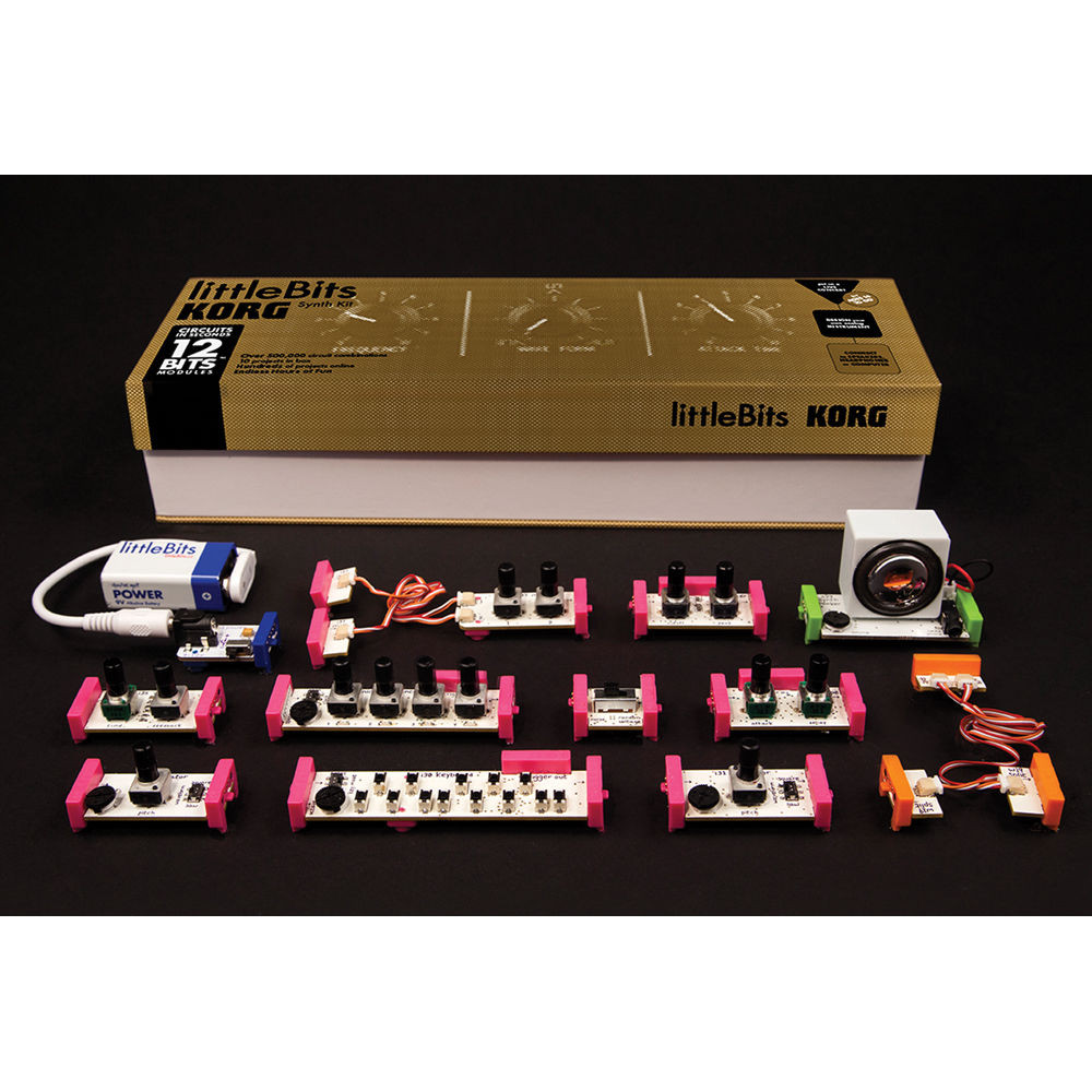 Best ideas about DIY Synth Kit . Save or Pin Korg littleBits Synth Kit Modular Analog Synthesizer Now.