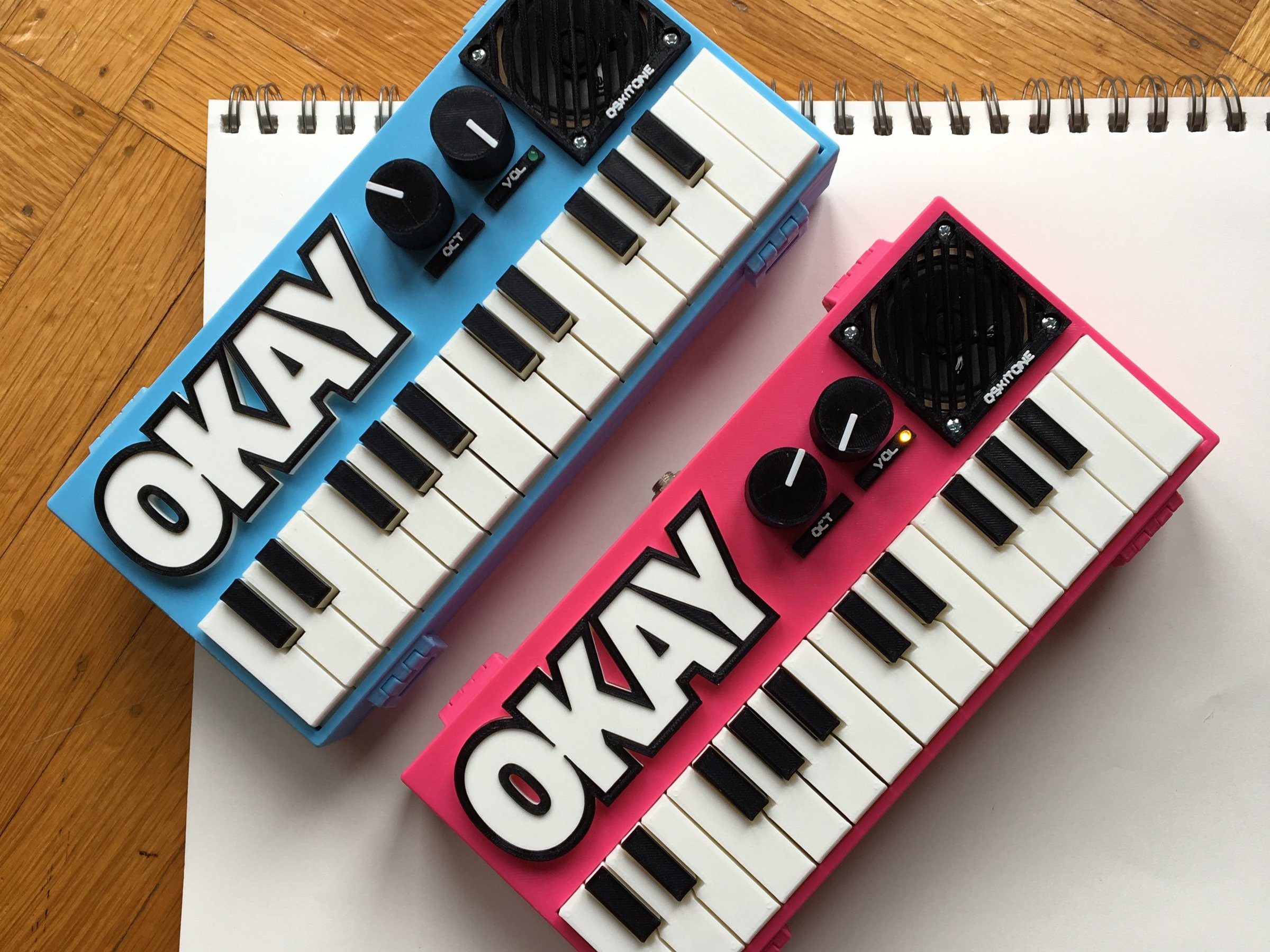 Best ideas about DIY Synth Kit . Save or Pin 2 Synth DIY Kit from Oskitone on Tin Now.