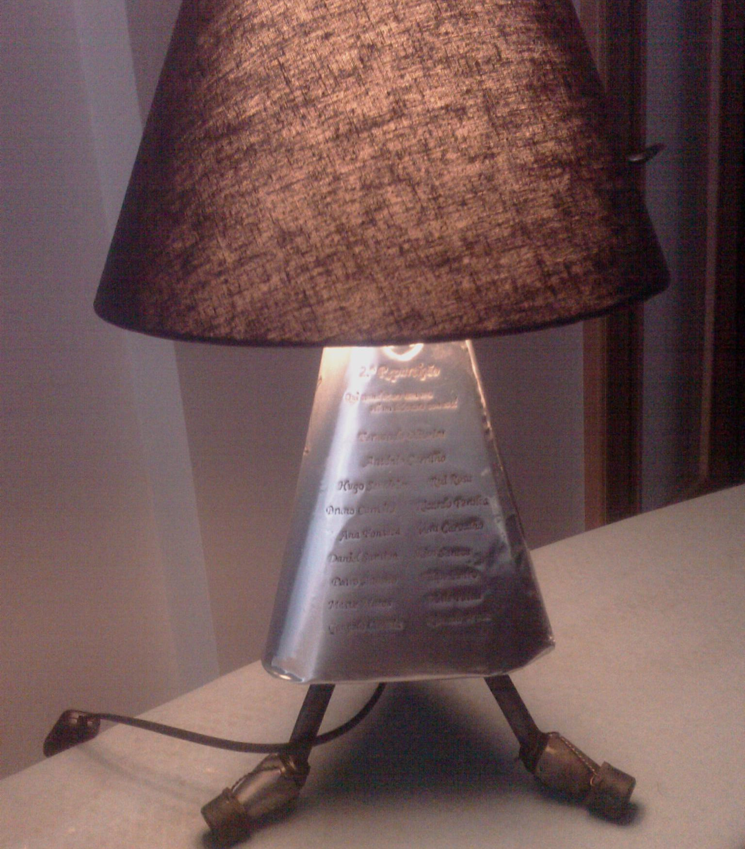 Best ideas about DIY Table Lamps . Save or Pin DIY Table Lamp 3 Now.