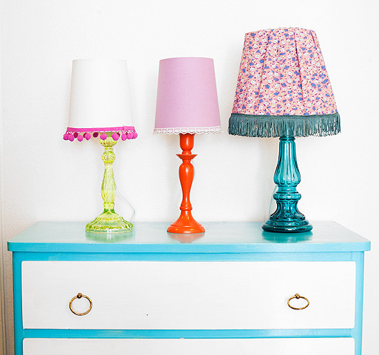 Best ideas about DIY Table Lamps . Save or Pin DIY From candle holder to table lamp Now.