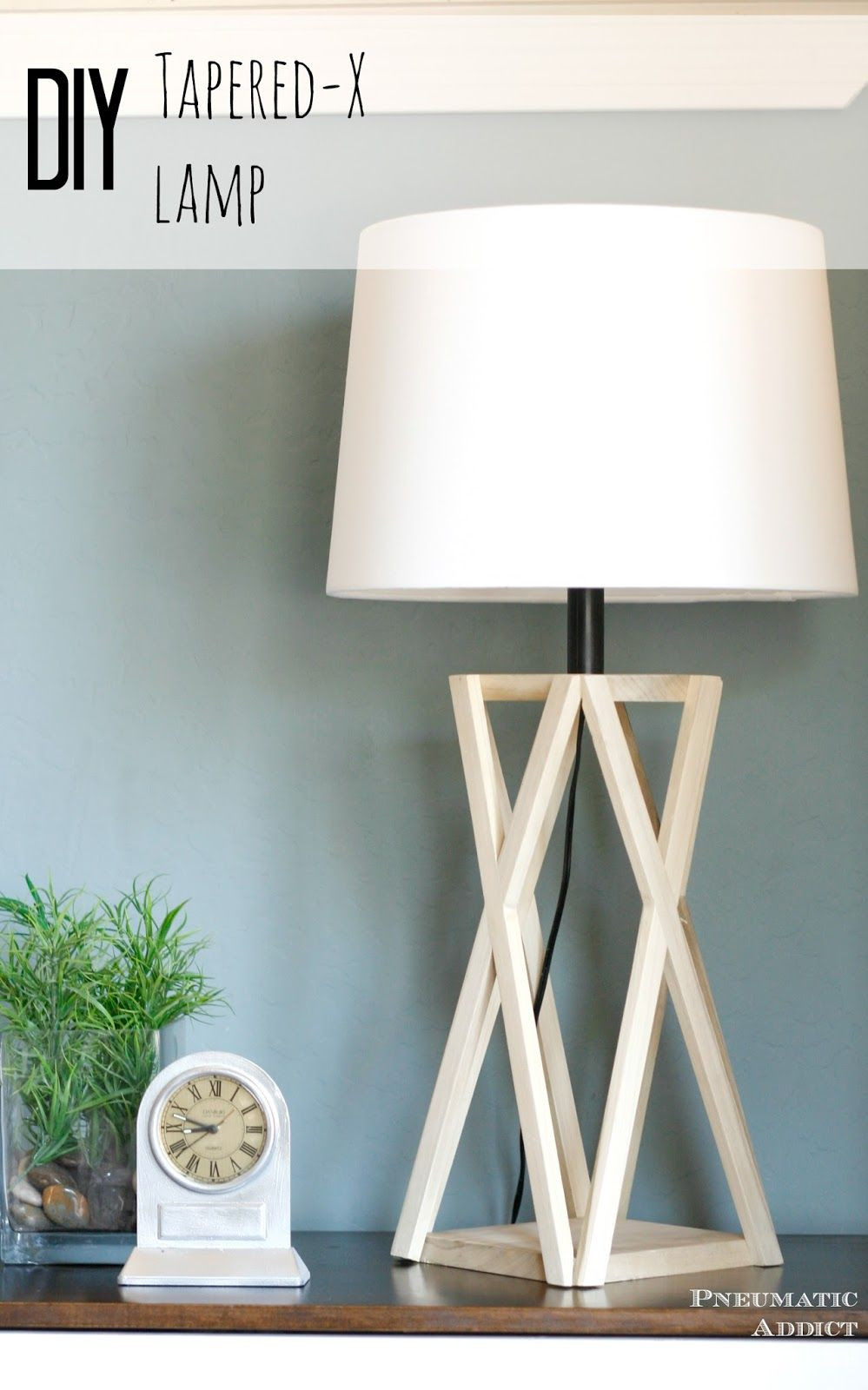 Best ideas about DIY Table Lamps . Save or Pin 5 DIY Reading Lamps With Minimal Designs Now.