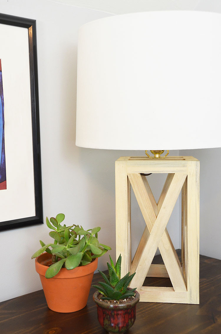 Best ideas about DIY Table Lamps . Save or Pin Simple and Chic Wooden Table Lamp DIY Now.