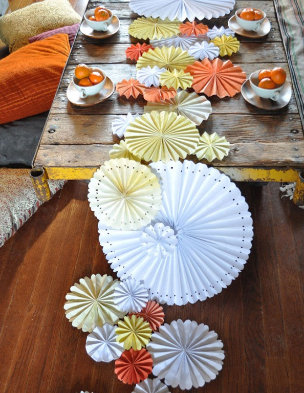 Best ideas about DIY Table Runner Wedding . Save or Pin 5 DIY Wedding Table Runners Now.