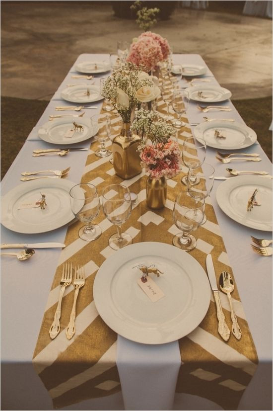 Best ideas about DIY Table Runner Wedding . Save or Pin Runners Wedding and Spring on Pinterest Now.