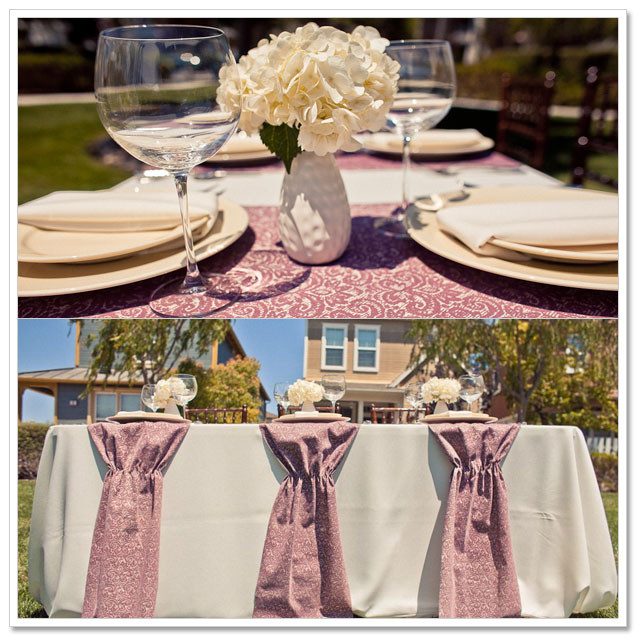 Best ideas about DIY Table Runner Wedding . Save or Pin DIY Table Runners Now.