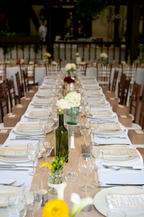 Best ideas about DIY Table Runner Wedding . Save or Pin Do you know the history of the table runner Now.