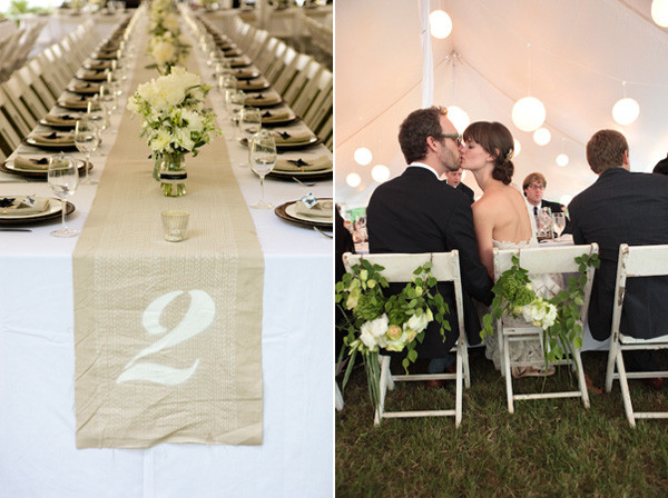 Best ideas about DIY Table Runner Wedding . Save or Pin Simple and Sweet Athens GA Wedding ce Wed Now.
