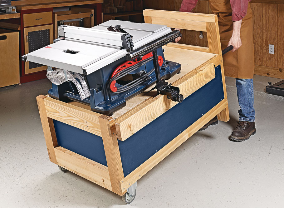 Best ideas about DIY Table Saw Stand Plans . Save or Pin Table Saw Stand Now.