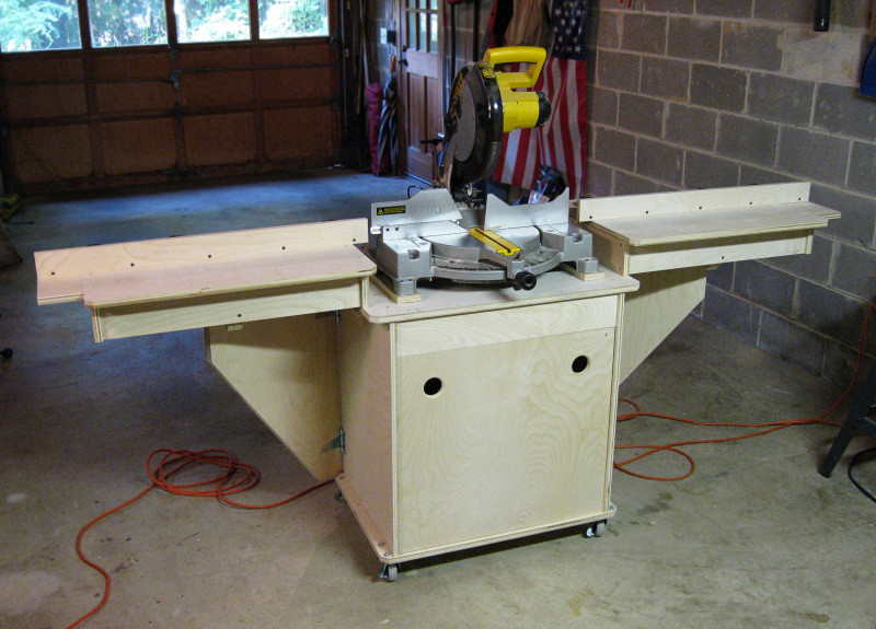 Best ideas about DIY Table Saw Stand Plans . Save or Pin PDF pound miter saw stand diy DIY Free Plans Download Now.