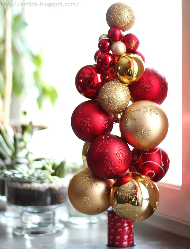 Best ideas about DIY Tabletop Christmas Tree . Save or Pin 14 DIY Tabletop Christmas Trees That Excite Shelterness Now.