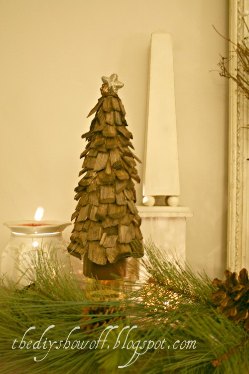 Best ideas about DIY Tabletop Christmas Tree . Save or Pin 5 DIY Wooden Tabletop Christmas Trees Shelterness Now.