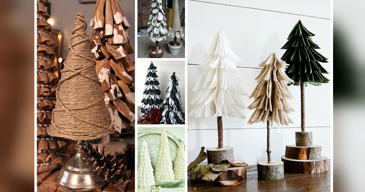 Best ideas about DIY Tabletop Christmas Tree . Save or Pin DIY Tabletop Christmas Trees For 5 Easy And Bud Now.