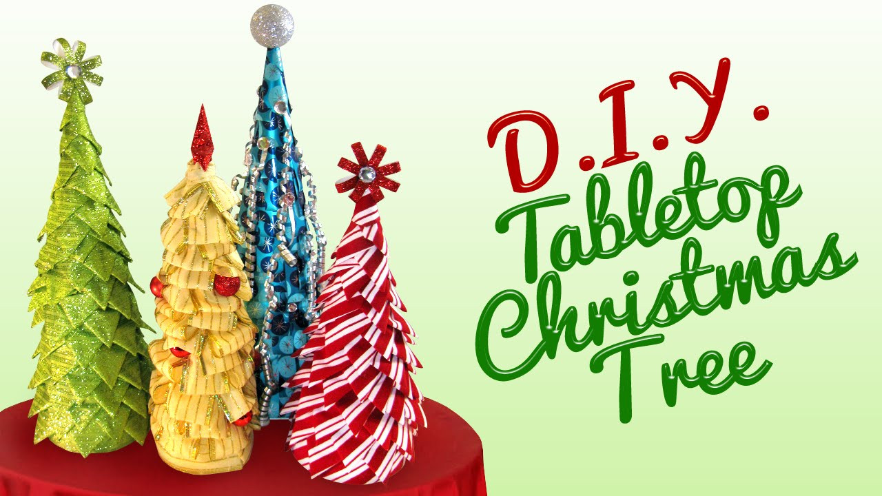 Best ideas about DIY Tabletop Christmas Tree . Save or Pin DIY Tabletop Christmas Tree Now.