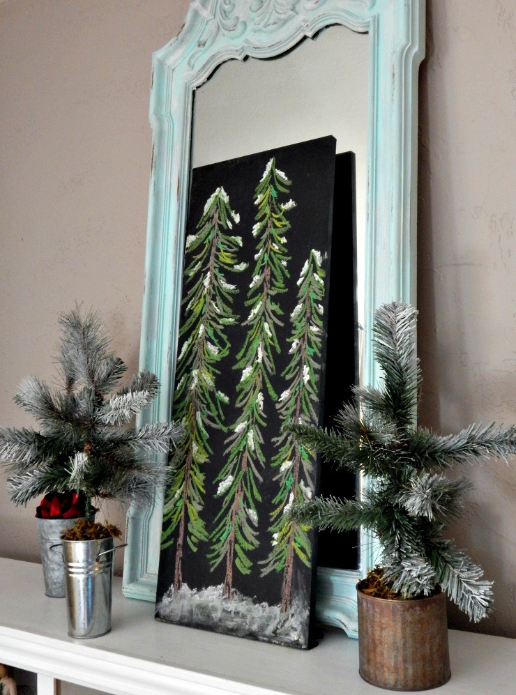 Best ideas about DIY Tabletop Christmas Tree . Save or Pin Julia Bettencourt Blog DIY Tabletop Christmas Trees Now.