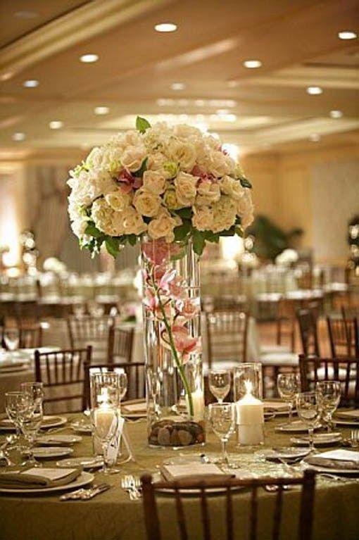 Best ideas about DIY Tall Wedding Centerpiece . Save or Pin Best 25 Inexpensive wedding centerpieces ideas on Now.