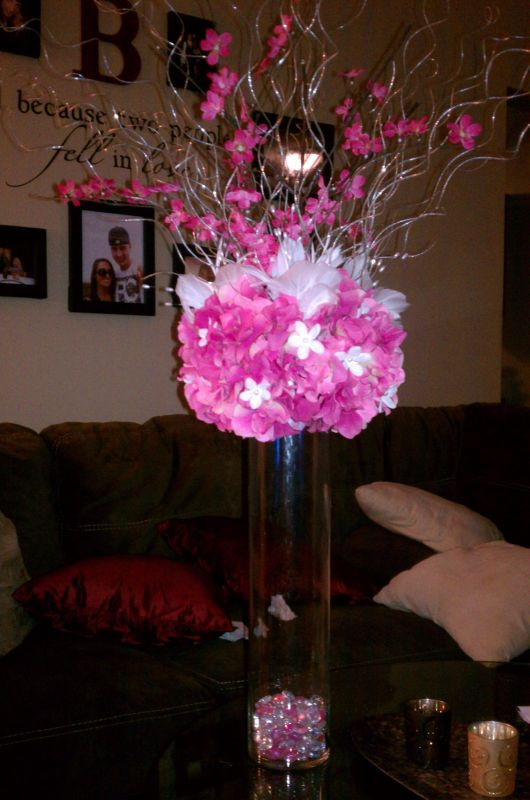 Best ideas about DIY Tall Wedding Centerpiece . Save or Pin My DIY Tall & Short Centerpieces Now.