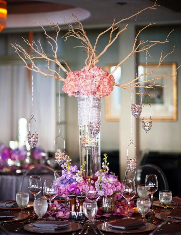 Best ideas about DIY Tall Wedding Centerpiece . Save or Pin 5 DIY Wedding Centerpiece Ideas WeddingDash Now.