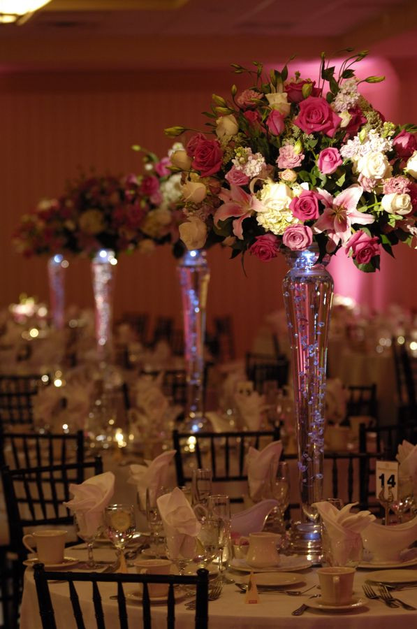 Best ideas about DIY Tall Wedding Centerpiece . Save or Pin cheap wedding centerpieces in tall vases Now.