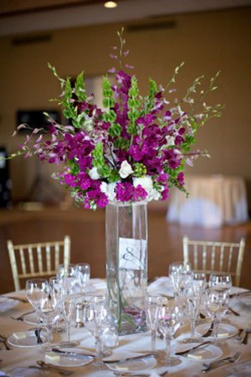 Best ideas about DIY Tall Wedding Centerpieces . Save or Pin 1000 ideas about Purple Wedding Centerpieces on Pinterest Now.