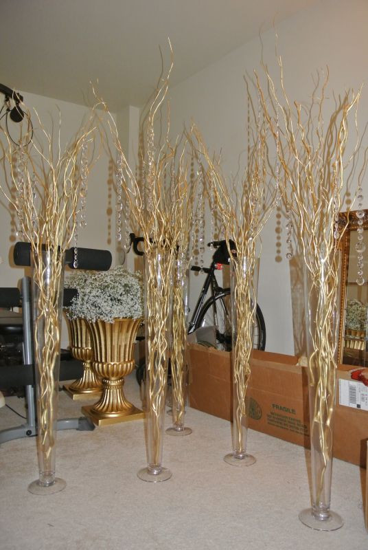 Best ideas about DIY Tall Wedding Centerpieces . Save or Pin Diy Tall Branch Centerpieces Best Diy Do It Your Self Now.