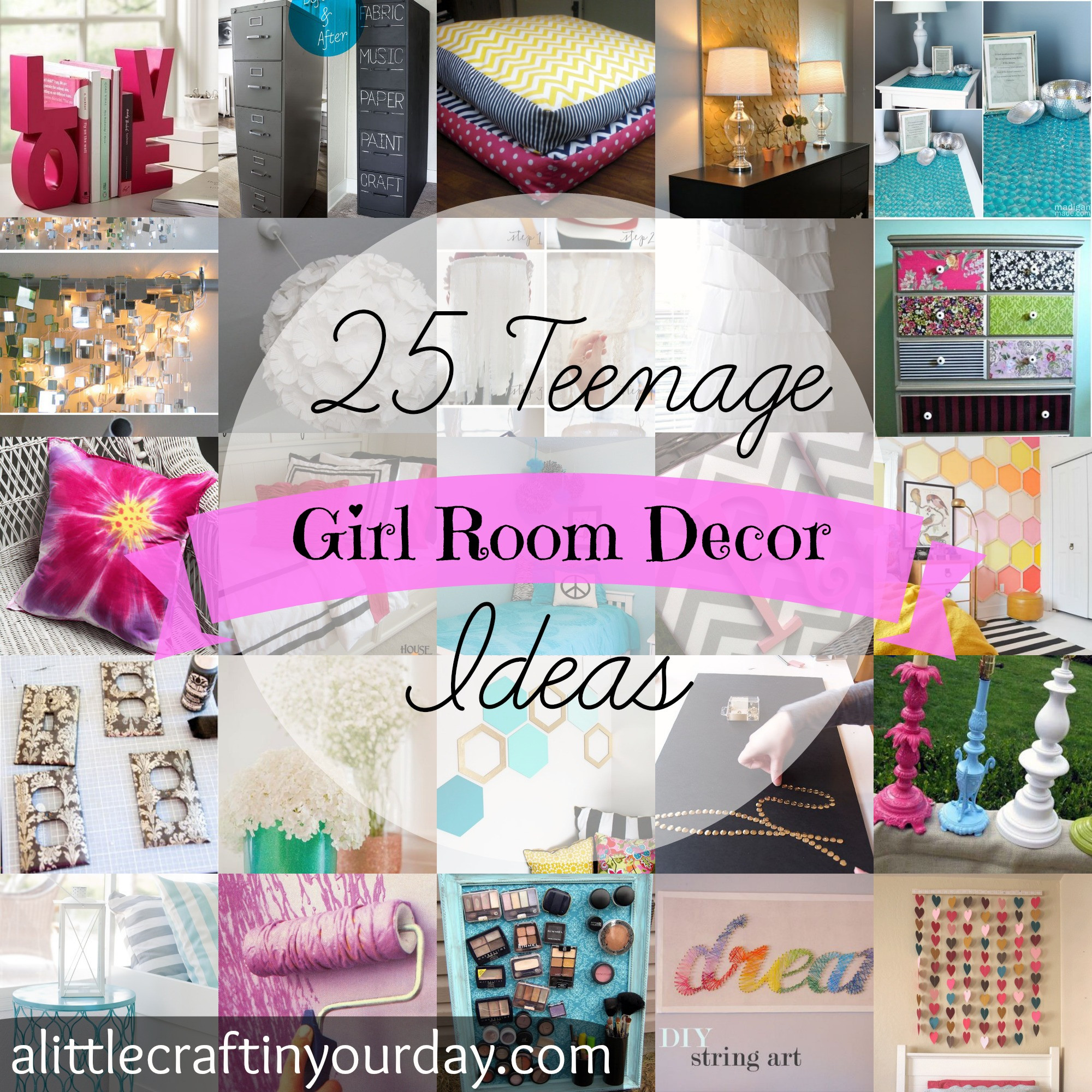 Best ideas about DIY Teenage Girl Room Decorations . Save or Pin 12 DIY Spring Room Decor Ideas – Craft Teen Now.