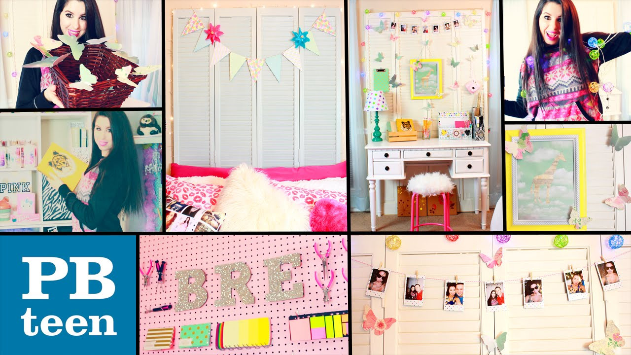 Best ideas about DIY Teenage Girl Room Decorations . Save or Pin DIY PB Teen Inspired Room Decor Now.