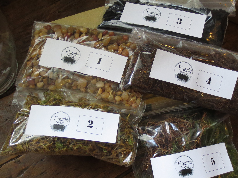 Best ideas about DIY Terrarium Kits . Save or Pin Terrarium Contents Kit DIY Terrarium Supply Moss by FaerieNest Now.