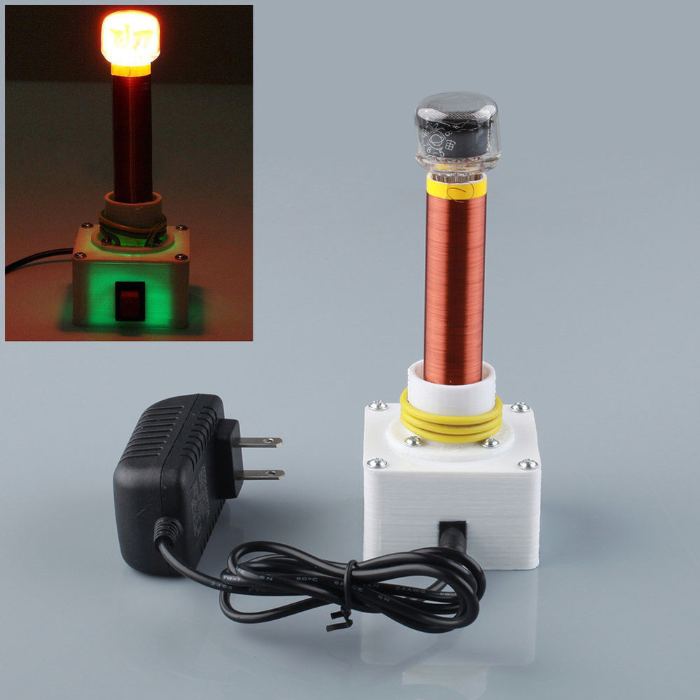 Best ideas about DIY Tesla Coil Kit . Save or Pin 12V Mini Wireless Electric Power Transmission Lighting For Now.