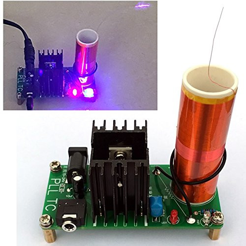 Best ideas about DIY Tesla Coil Kit . Save or Pin DIKAVS DIY Mini Tesla Coil Kit 15W Mini Music Tesla Coil Now.